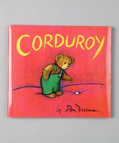 Corduroy!