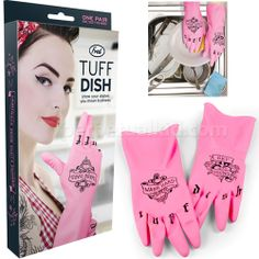 kitchens, tuff dish, gift, kitchen glove, friends