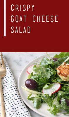 Crispy Goat Cheese Salad | Recipe