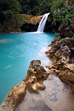 Tanap Avis Falls, Phillipines water, tanap avi, asia travel, phillipin, avi fall, places, paradise, pools, philippines