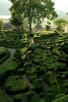 Gardens of Marqueyssac in France