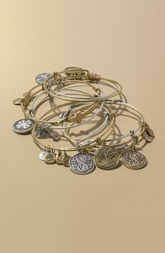 Beautiful wire bangles from Alex and Ani.