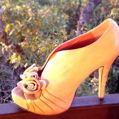 @ruelala #shoelala Flower #shoes #vincecamuto