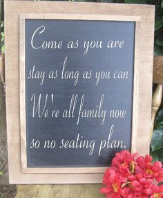 Rustic Wedding DIY Chalkboard sign Menu Large by dlightfuldesigns, $38.00 I am going to use this at the wedding and reception!! I love it