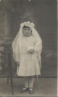 Saint Gianna Beretta Molla on her First Communion day
