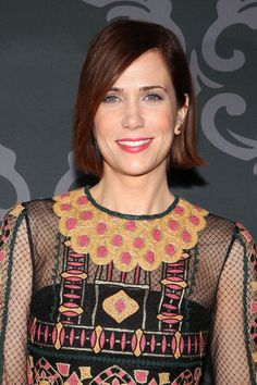 Kristen Wiig's Bob Sets A New Gold Standard For Haircuts