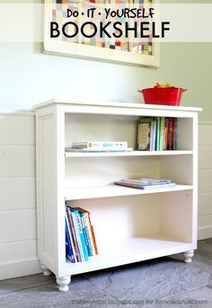 Build a bookshelf wi