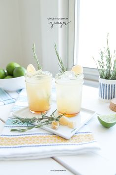 Ginger Rosemary Zinger / coco and mingo