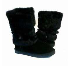 B.F.T. by Barefoot Tess 'Cortez' Boot (Black)