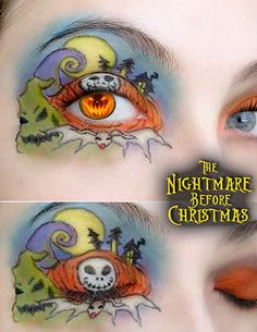 The Nightmare Before Christmas makeup