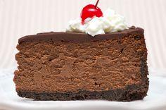 Incredible Triple Chocolate Cheesecake Recipe #chocolate #cheesecake