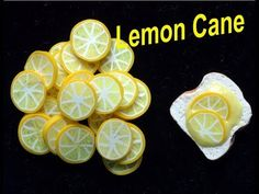 DIY: How To Make a Lemon Cane With polymer Clay