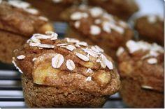 Banana Spelt Muffins by fANNEtastic food
