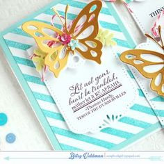 Let Not Your Heart Be Troubled Card by Betsy Veldman for Papertrey Ink (September 2014)