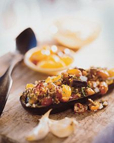 Couscous-Stuffed Eggplant - Martha Stewart Recipes