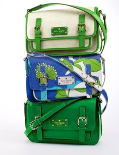 Colors for spring...satchel madness!