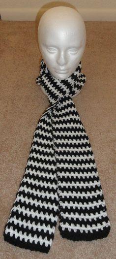 Super Easy Scarf Crochet Pattern