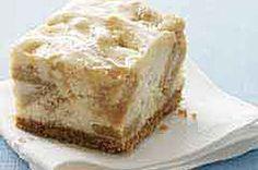 cheesecakes, golden caramel, cheesecake bars recipes, caramels, caramel cheesecak, bar recipes, browni, cheesecak bar, cheese recipes