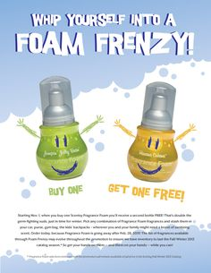 For all you hand sanitizer junkies, you can sanitize your hands without any harsh alcohol. It smells great too! www.jamiegrant.scentsy.us