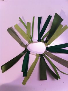 DIY - make your own ribbon decorated stretchy hair bands