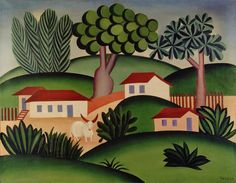 Paisagem com Touro by Tarsila do Amaral - WikiPaintings.org