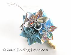 Kusudama Tutorial Part 2 by foldingtrees: Here is the tutorial to assemble the ball. #Kusudama #foldingtrees
