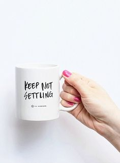 So yes, we're obsessed @Daniel James T. Cook by Jenna Leigh! #keepnotsettling #mugtalk #levolove