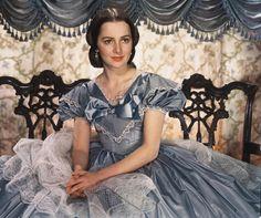 "Olivia de Havilland as Melanie in ""Gone With The Wind"". film, wind, fictional characters, olivia de, de havilland, melani, movi, studio portraits, dehavilland"