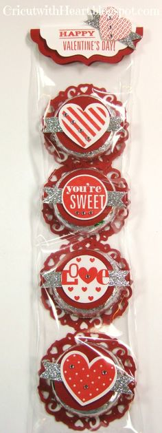 Cricut with Heart: Valentine Peppermint Patties