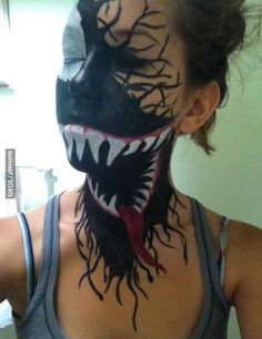 Turning into Venom!