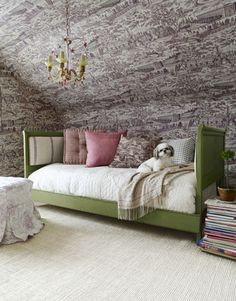 headboard, the loft, attic bedrooms, shabby chic, bedroom decorating ideas