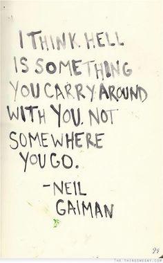 neilgaiman, truth, wisdom, inspir, thought, hell, word, quot, neil gaiman