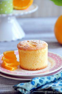 Orange Chiffon Cupcakes