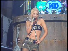 No Doubt ▶ Underneath It All/Hella Good (Live at the 45th GRAMMYs, 2003) - YouTube