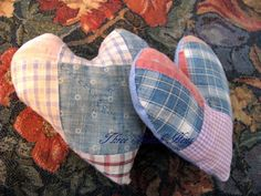 Cutter Quilt Hearts Home Decor Pillows and Crafter's Delight ... in my shop now!