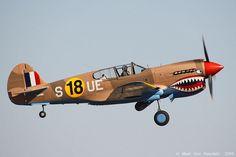 P-40 Warhawk by mvonraesfeld, via Flickr