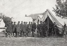 Maryland, Antietam, President Lincoln on the Battlefield Alexander Gardner, October 1862