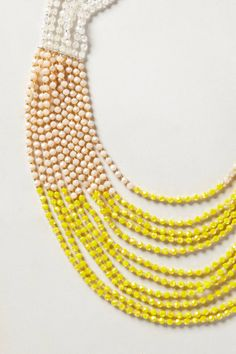Luang Beaded Necklace - anthropologie.com