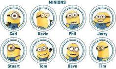 Minions! minions, minon, stuff, minion mania, funni, names, movi, despic, thing