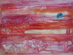 Cosmos by ArtbyKTrudeau on Etsy, $225.00