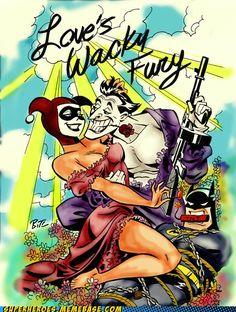 Harley and Joker!