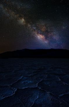 Milky Way Galaxy and bad water by Ani Pandit, via 500px