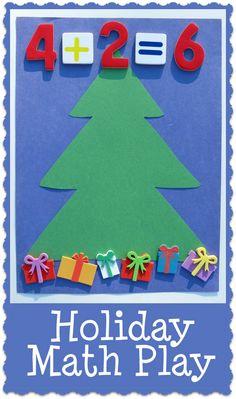 Holiday Math Play