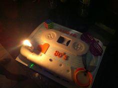 80's Theme Cake