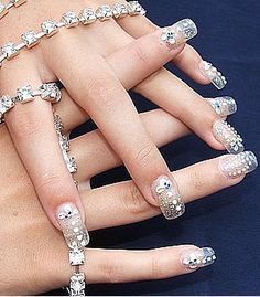 unique wedding nails