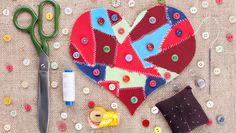 6 creative ideas for leftover fabric scraps #DIY #crafts #fabric