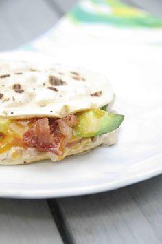 The Ultimate Tuna Melt - Delicious Tuna Salad with Tomato, Bacon, Avocado and Cheddar Cheese #FlatoutStarkist