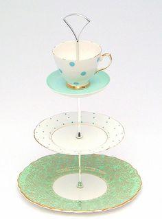 tea cup tea tray