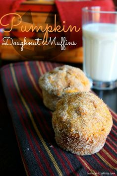 Pumpkin Doughnut Muffins!