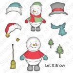 PK-330 Snowman Doll